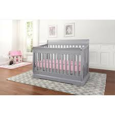 Graco Convertible Crib Assembly Instructions by Graco Maple Ridge 4 In 1 Convertible Crib Pebble Grey Baby