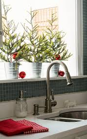 kitchen attractive beautiful christmas decoration ideas gorgeous