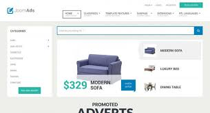 classifieds u0026 ads listings responsive joomla template joomla monster