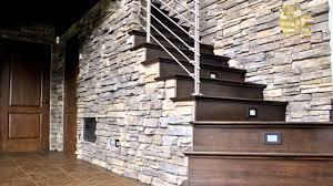deco mur pierre pierre décorative pragga stone sans joints youtube