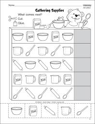 pattern math worksheets preschool pattern worksheets for kindergarten get free preschool grade math
