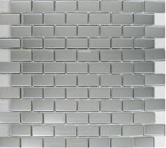 stainless steel mosaic tile backsplash polish silver metallic mosaic tile backsplash smmt035 brick