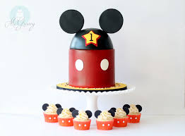 mickey mouse 1st birthday and smash cake mcgreevy cakes