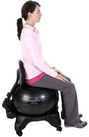 Office Chair Workout Desk Exercise Ball Office Chair Study Workout Ball For Desk