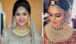bridal jewellery images real brides flaunting striking and royal kundan jewellery on their