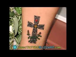cross with rosary designs