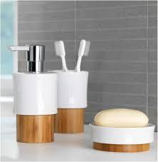 Bathroom Bamboo Spirella Fjord Bamboo Bathroom Accessories Bathroom Bamboo