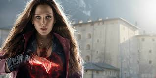 witch costume hairstyles elizabeth olsen is open to the idea of scarlet witch solo movie