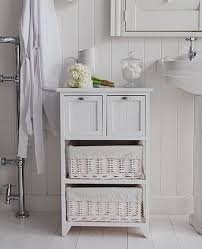 white bathroom storage cabinet b american