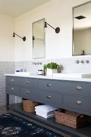 Bathroom Vanity Backsplash by Subway Tile Vanity Backsplash Captivating Bathroom Subway Tile