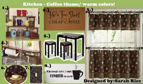 coffee themed kitchen canister sets interior home page