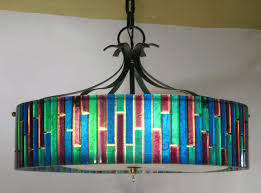 mad for mid century multi colored pendant light