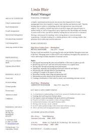 resume template sles fashion retail resume best resume collection