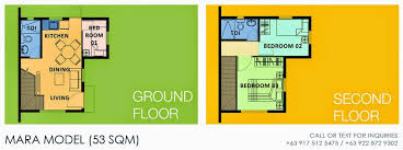 Camella Homes Drina Floor Plan Camella Homes Camella Altea Mara House And Lot For Sale