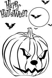 free printable halloween pumpkin coloring pages free printable