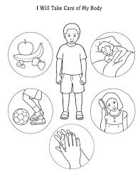 parts of the body coloring pages for preschool 2016 outline for sharing time i know the scriptures are true