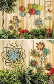 fall garden wall art ideas outdoor metal wall art design ideas