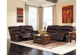 Ashley Furniture Microfiber Loveseat Damacio Reclining Sofa Ashley Furniture Homestore