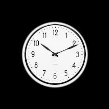 Wall Watch by Arne Jacobsen Station Wall Clock 29 Cm U2013 Rosendahl Dk