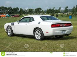 Dodge Challenger White - dodge challenger editorial photo image 43546741