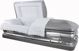 caskets prices best price caskets 8949ss stainless steel casket br silver w