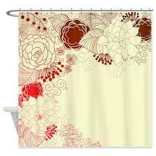 bold brown red and magenta shower curtain kawelamolokai com