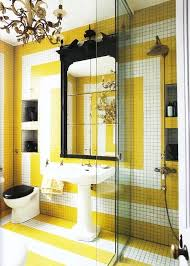 Bright Yellow Bathroom by 228 Best