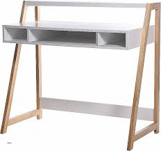 destock bureau bureau destock bureau awesome bureau scandinave blanc 3 niches 1