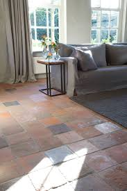 painting terracotta tile floors flooring