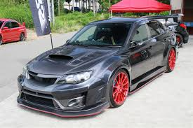 subaru sti 2011 hatchback varis has revealed new body kit for 14 sti sedan nasioc