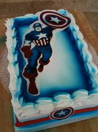 captain america cakes u2013 decoration ideas little birthday cakes
