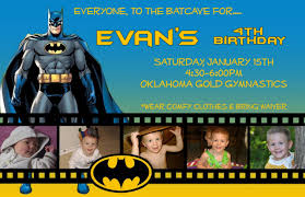 batman birthday invitation cards ajordanscart com