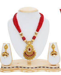 red gold necklace images Buy delightful red gold necklace set 130357 at 189 42 zar jpeg