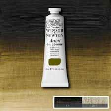 winsor and newton artists u0027 oil colour 37ml olive green oil