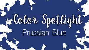 color spotlight prussian blue watercolor color profile youtube