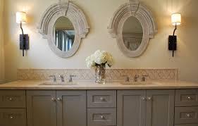 classy bathroom backsplash ideas also grey color vanity with classy bathroom backsplash ideas also grey color vanity with elegant countertops decor square double sink