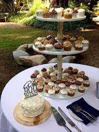 our gluten free red velvet wedding cake with the princess bride