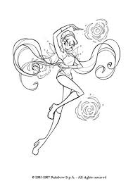 Winx Club Coloring Pages Stella stella the winx club coloring pages hellokids
