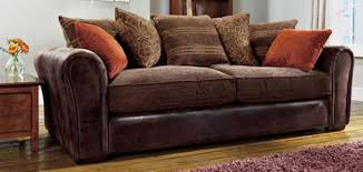 Leather With Fabric Sofas Leather And Fabric Sofa Mforum