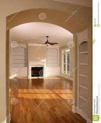 luxury living room with arched entrance stock photo image 5601900