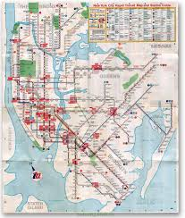New York Submay Map by Subway Subculture Old Subway Map 1967