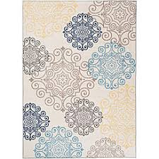 Modern Floral Rugs Area Rugs Accent Rugs Kmart