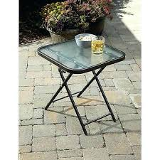 Wood Patio Side Table Side Table Plastic Folding Patio Side Table Folding Drinks Side