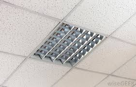 Ceiling Tile Installation What Is A Suspended Ceiling With Picture