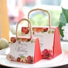 Wedding Candy Boxes Wholesale Wedding Favor Box 1pcs Creative Continental Hand Candy Box Bag