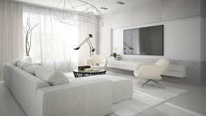 wohnzimmer weiss sofas in weiß hell und gemütlich