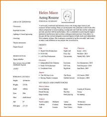 resume templates pdf free 11 acting resume template download skills based resume