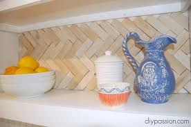kitchen backsplash cheap 20 diy kitchen backsplash ideas