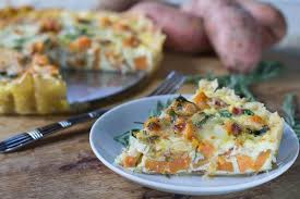 Southern Comfort Sweet Potatoes Roasted Sweet Potato Quiche Spicy Southern Kitchen