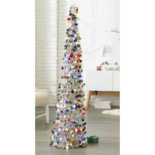 5 u0027 pop up tinsel christmas tree multicolored dots target